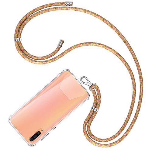 COCASES Universale Handykette, Schlüsselband Halsband zum Umhängen kompatibel mit meisten Smartphones(Rainbow)