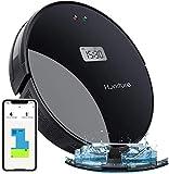 Saugroboter Q5,HONITURE 2-in-1 Staubsauger Roboter LCD mit Wischfunktion und intelligenter...