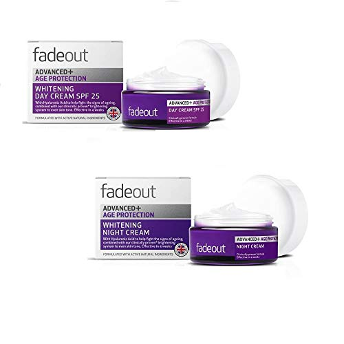 Fade Out Advanced Age Protection Whitening Day Cream 50ml & Night Cream 50ml Combo