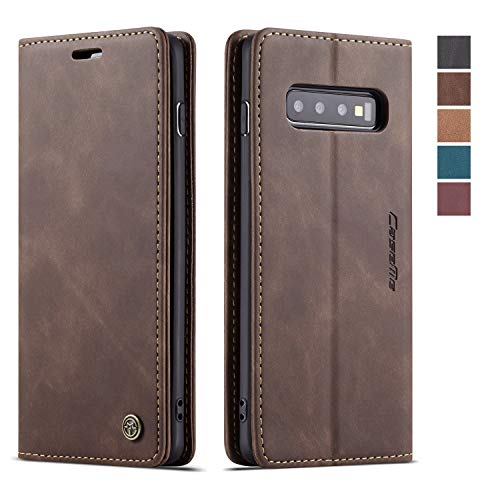 Miagon Crocodile Flip Case for Samsung Galaxy S9 Plus,Retro PU Leather Wallet Cover with Card Slots Magnetic Kickstand Function Bookstyle Bumper,Green