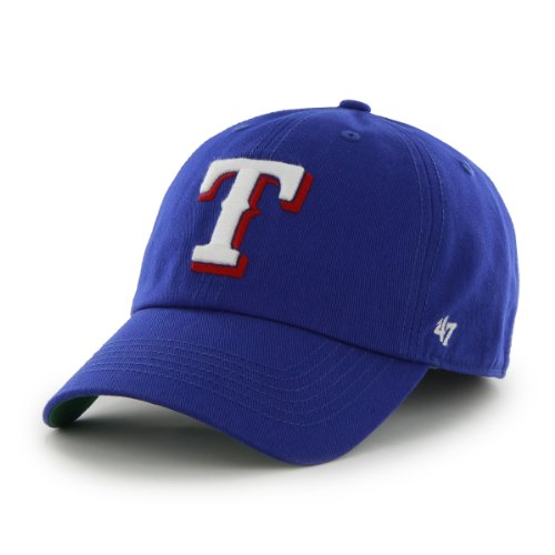 MLB Texas Rangers '47 Franchise Fitted Hat, Royal, Small