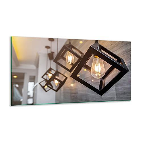 Fornuis afdekplaat keramische plaat licht beige 1 stuk 90x52 kookplaten glas inductie