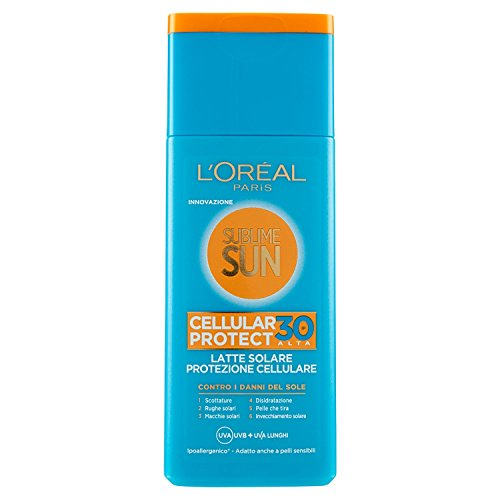 L'Oréal Paris Sublime Sun Cellular Protect, Latte...