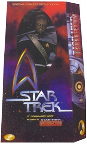 12 Special Movie Collector's Edition Star Trek Lt. Comhommeder Worf As Seen in Star Trek  Insurrection Action Figure by Playmates