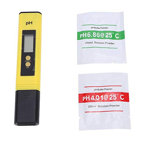 Alomejor PH Meter 7pros Hohe Genauigkeit Stifttyp Wasserqualität Tester 6 PH Puffer Pulver Pakete Bestes Werkzeug