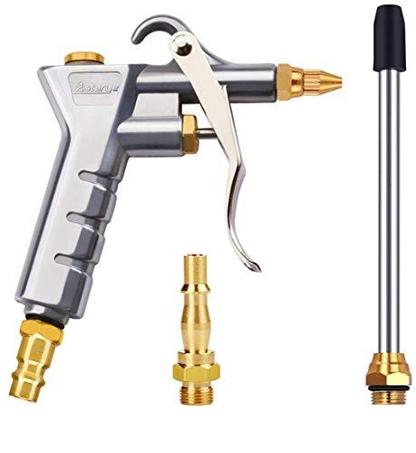 """Pistola ad aria compressa Pistola ad aria compressa per 1/4""""BSP tedesco e bristische Attacco rapido Pistole di soffiaggio ad alta pressione Strumento di pulizia del compressore d'aria pneumatico"""