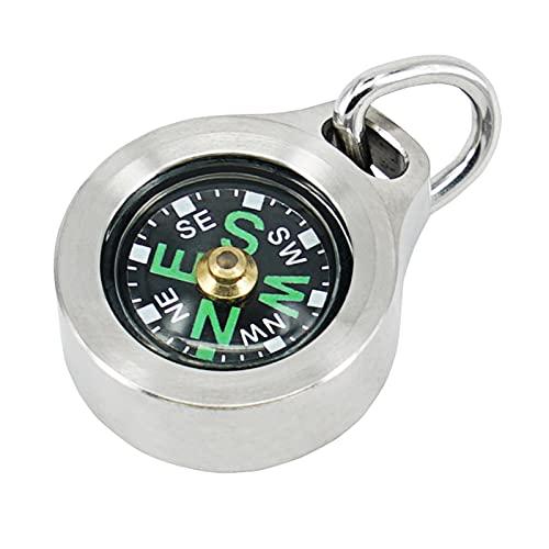 MecArmy CMP Kompass aus hochwertigem Titan/Messing, Survival-Kompass in Tropfenform, Wanderkompass, wasserdicht nach IPX5-Standard, tragbar, leicht zu erkennen