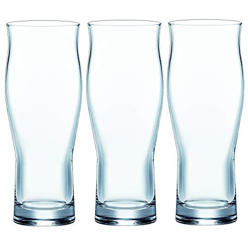 東洋佐々木ガラス ビヤーグラス クリア 360ml ビヤーグラス 口あたり 日本製 食洗機対応 B-37101-JAN-P 3個入り [3519]