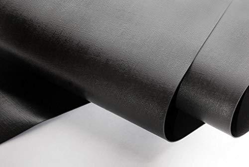 NORDFOL 5,99€/m² Teichfolie schwarz PVC -P 1,0mm stark - Folie, Gartenteich, Goldfischteich (PVC-P, 7m x 8m)