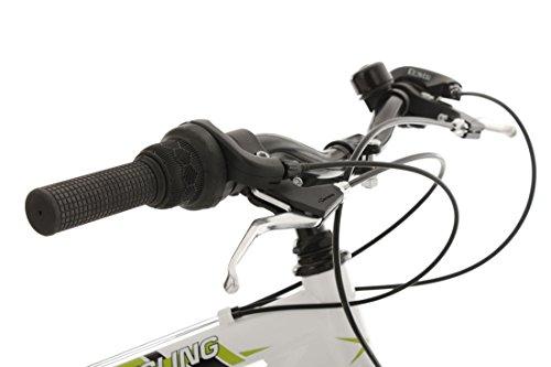 KS Cycling Fahrrad Mountainbike ATB 26 Zoll Zodiac weiß-Grün - 5