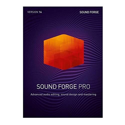 SOUND FORGE Pro – Version 14 – Audio Editing, Recording, Restauration und Mastering. | Pro | PC | PC Aktivierungscode per Email