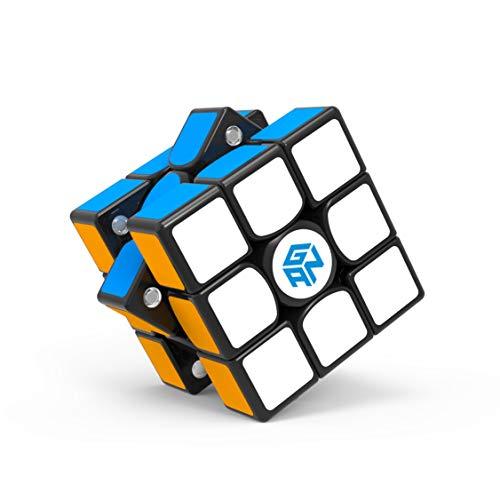 GAN 356X v2, 3x3 Magnetwürfel Geschwindigkeit Würfel Zauberwürfel Spielzeug Puzzle Knobelspiel Gan356 X ver. 2020 (Aufkleber)