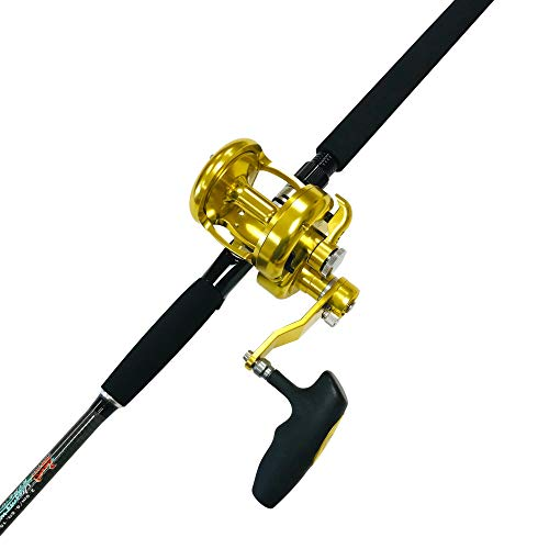EatMyTackle Tuna Terminator Baitcasting Rod and Reel Combo