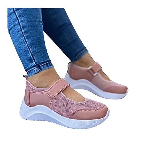 Briskorry Chaussures d été en maille pour femme - Chaussures de course - Chaussures de course - Chaussures de sport - Pour l été - Respirantes