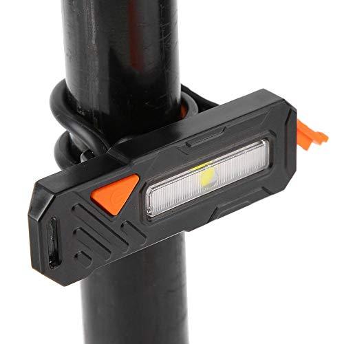 Fiets achterlicht, oplaadbaar USB LED fiets achterlicht, super helder fiets achterlicht Fiets achterlicht met waarschuwingslicht en wit licht