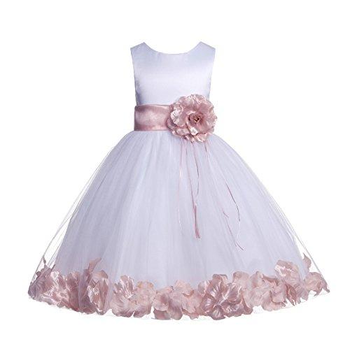 Wedding Pageant Floral Rose Petals …