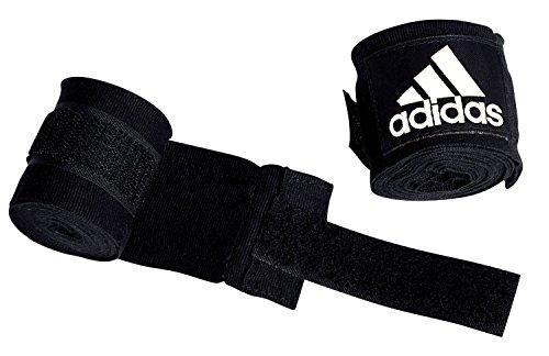 Adidas Handbandagen, für Boxen/Kampfsport, 255cm, Schwarz
