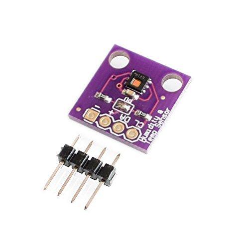 ICQUANZX HDC1080-Modul Niedriger Stromverbrauch, GY-213V-HDC1080 Digitaler Feuchtesensor mit hoher Genauigkeit und Temperatursensor