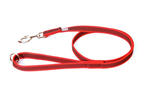Julius-K9 Color & Gray Super-Grip Leash with/without Handle