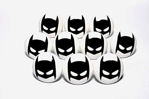 Kaizen Casa Schwarz Batman Fledermaus Kleine Universal Möbelknöpfe für Schrank, Schublade, Kommode, Tür, Küche, Bad, Haushalt Kinder