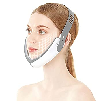 V Face Machine Facial Massager Electric Facial Massager High Frequency Vibration Anti-aging Facial Firming Skin Lifting Device,Electric V-Face Shaping Massager
