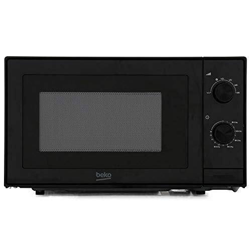41VQX2spkxL. SS500  - Beko MOC20100B 700W 20L Solo Microwave Oven - Black