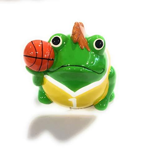 OPTIPLAST Pomme Pidou – Hucha de baloncesto – 10 x 9 cm de cerámica – Color rosa