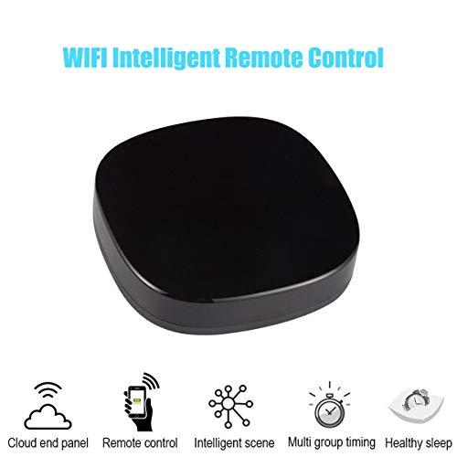 Miyawell Controlador Remoto Inteligente Universal IR WiFi Control Remoto Inteligente para el hogar Adecuado para Alexa Asistente de Google