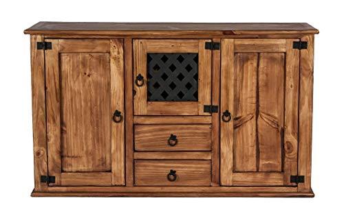 Main Möbel Sideboard 129cm 'Hacienda' Pinie gewachst
