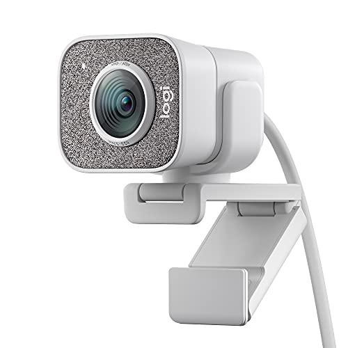 Oferta de Logitech StreamCam, Cámara Web con USB-C para Streaming de vídeo y creación de Contenido, Vídeo Vertical Full HD 1080p a 60 fps, Versatilidad de Montaje, para Youtube, Gaming Twitch, PC/Mac, Blanco