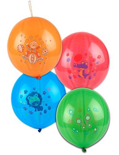 Generique - 4 Ballons Punch Ball 52 cm