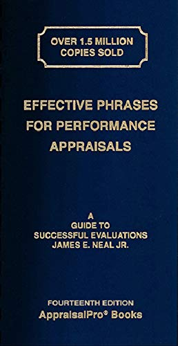 Real Estate Investing Books! - Effective Phrases for Performance Appraisals: A Guide to Successful Evaluations