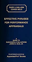 Effective Phrases for Performance Appraisals: A Guide to Successful Evaluations Book PDF
