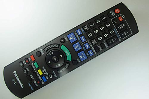 Panasonic DMR-EZ49VEBK Genuine DVD Recorder Remote Control N2QAYB000466 by Panasonic