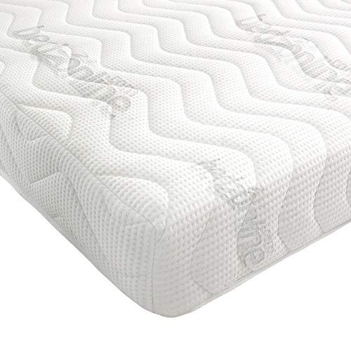 BEDZONLINE Mattress 7-Zone 20cm(8 inch) Depth Memory Foam Rolled Mattress (5FT KING SIZE)