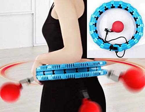 Lowest Prices! Walk Diary Will Not Fall Hula Hoop a Hot Waist Worker Hula Hoop for Adults Faster Bur...