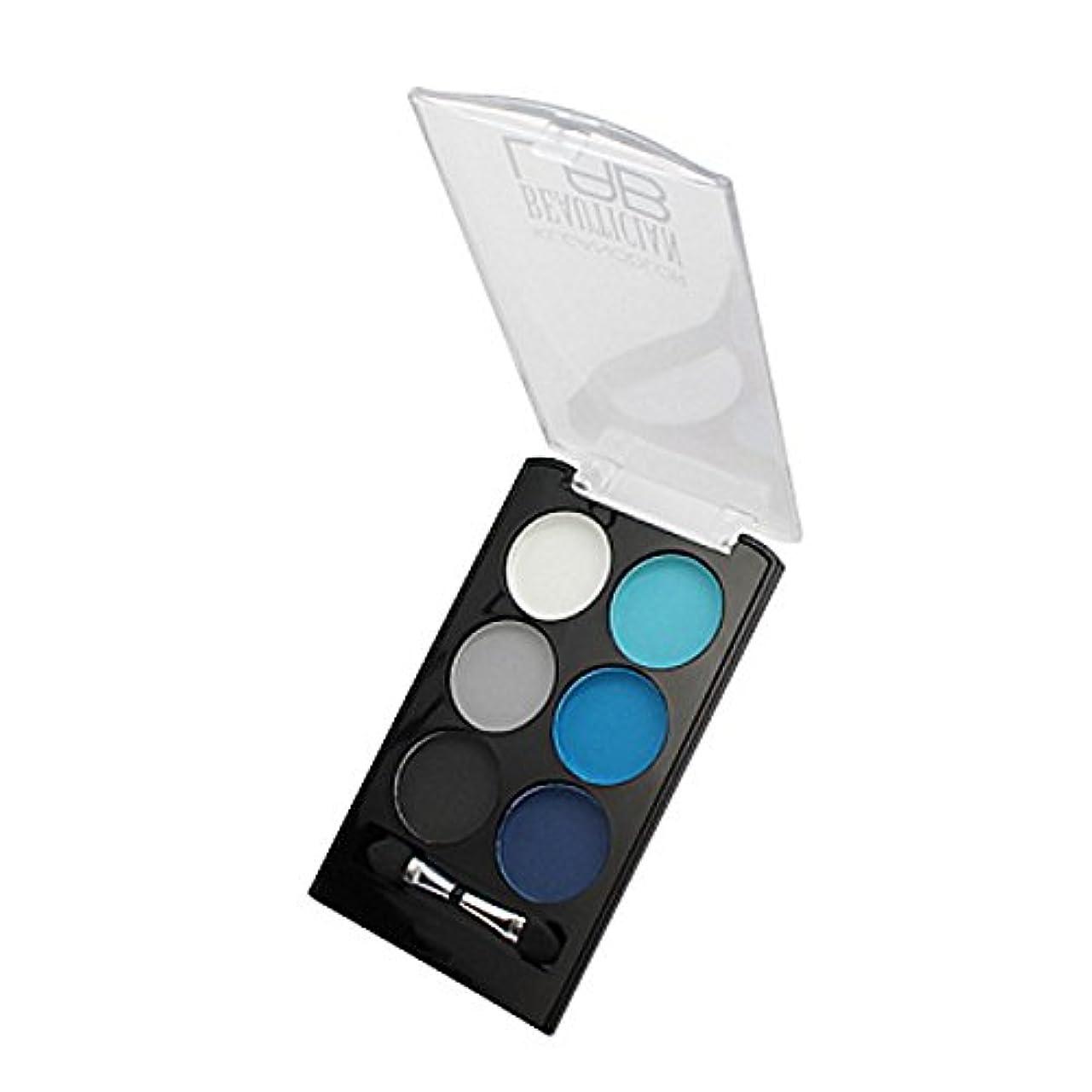 暴力的な申込み悲惨(6 Pack) KLEANCOLOR Beautician Lab Shimmer Shadow Pallete - Experimenter (並行輸入品)