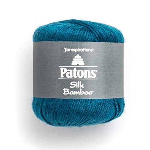 Patons Silk Bamboo Yarn, Sapphire