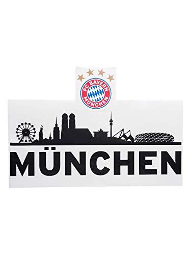 FC Bayern München Wandtattoo Skyline