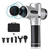 MINILIFE Massage Gun Handheld Percussion Massage Gun, Deep Tissue Massager for Muscle Pain Relief, Enhanced Recovery for Athletes, Percussive Therapy, 20 Powerful Speeds & Super Quiet