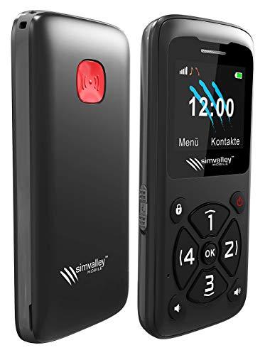 simvalley MOBILE Kinderhandy: 5-Tasten-Senioren- und Kinder-Handy mit Garantruf Premium, Radio & MP3 (Handy ohne Vertrag)