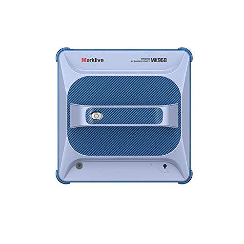 Aozu Limpiador automático de ventanas, robot de ventana para el hogar con control remoto, protección de apagado y sensor de sonda de borde incorporado, robot de limpieza de ventanas para interiores