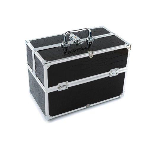 Grande boîte de rangement pour maquillage et produits de beautés Black #1 32*18*22cm