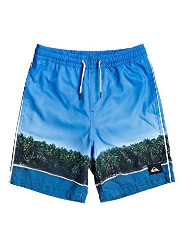 Quiksilver EQBJV03264 - Pantaloncini da nuoto Jetlag Dreams 15' per ragazzi 8-16 Blithe S