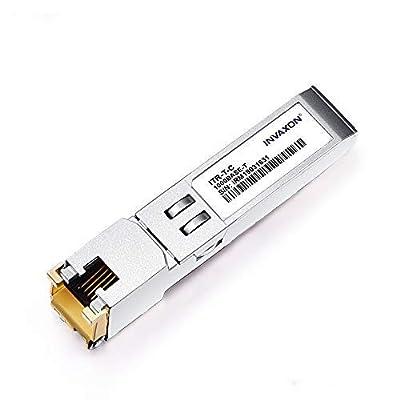 1 Pack 100% Compatible for GLC-T GLC-TE Copper SFP Transceiver 10/100/1000BASE-T Reach 100m