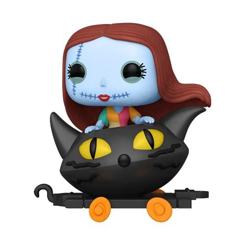 Funko- Pop Disney: Nightmare Before Christmas Train-Sally in Cat Cart Figura da Collezione, Multicolore, 50631