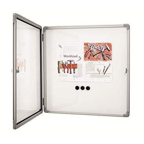 Preisvergleich Produktbild Magnetoplan SP Schaukasten für den Innenbereich,  für 6 Aushänge im DIN A4 Format