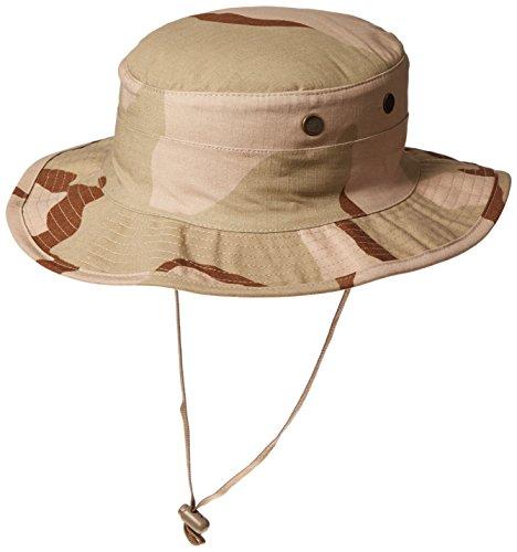 Tru-Spec Military Boonie Hat R/S, Desert 3 Color, 7 3/4