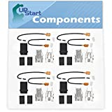 4-Pack 330031 Top Burner Receptacle Kit Replacement for Jenn-Air CCE406B Range/Cooktop/Oven - Compatible with 330031 Range Burner Receptacle Kit - UpStart Components Brand