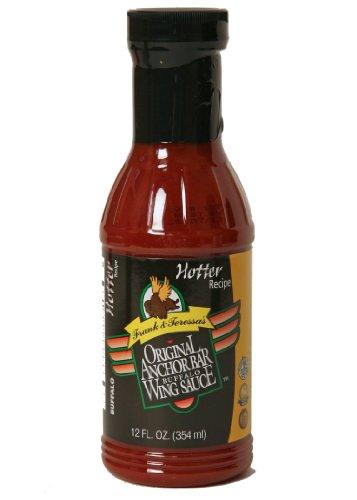 Anchor Bar, Sauce Wing Hotter Recipe, 12-Fluid Ounce